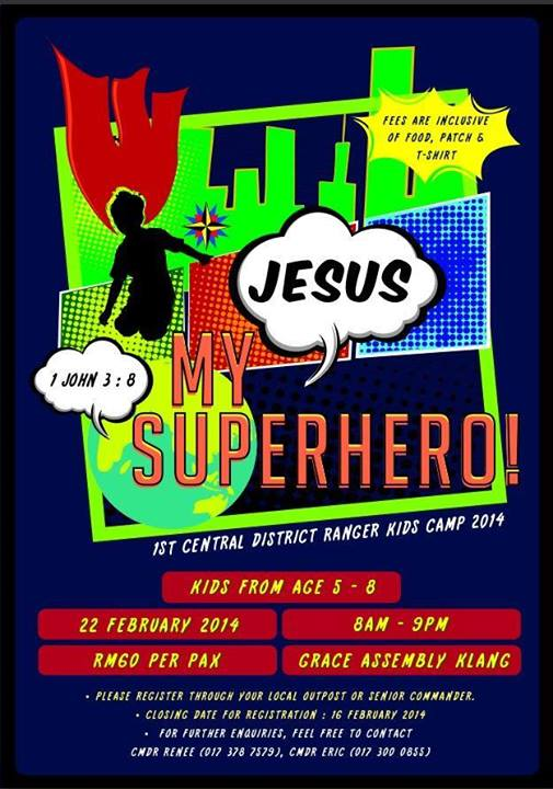 2014 Central District Ranger Kids Day Camp Malaysia