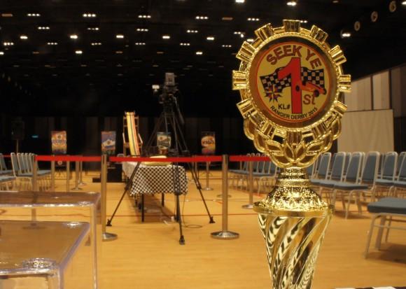 RR KL#1 Derby 2015 trophy